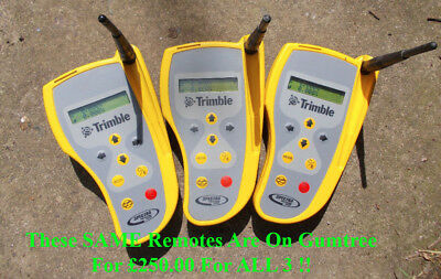 RC703 Remotes For Trimble/Spectra GL722, GL742 & GL762 dual grade lasers.