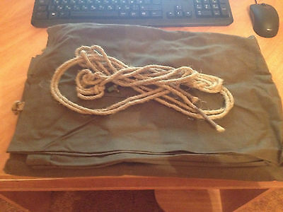 Army cloak tent USSR include rope, leather luvers