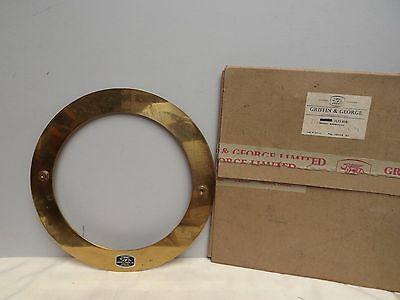 Brass Ring [ Lacquered Brass ] Griffin & George Ltd { C1970 } Fine [ Annulus ]