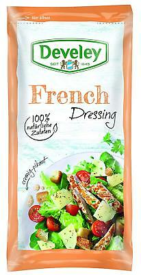 (100ml=1,33€) Develey Salatliebe - French Dressing - Salatdressing - 75 ml