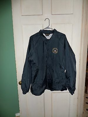 U.S. Coast Guard Windbreaker Jacket Mens Size L