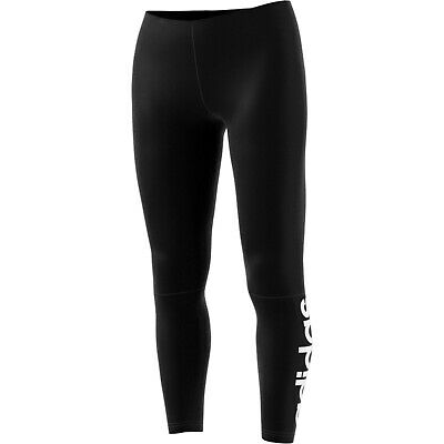 adidas Essentials Linear Tights Damen Fitness Leggings Sport Leggins schwarz