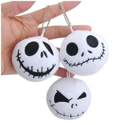 The Nightmare Before Christmas Jack Mini Plush Soft  Pendant Toy Doll Gift 1pc