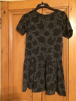 Women's Top Shop Shop Size 6 Floral Dress Brand-New Without Tags