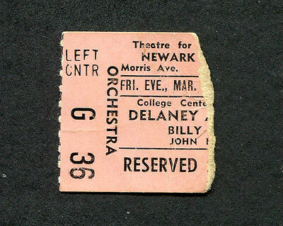 Original 1972 Delaney & Bonnie and Friends Concert Ticket Stub Country Life NJ