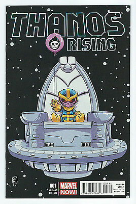 Thanos Rising #1, Skottie Young Variant, Marvel Comics
