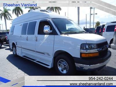 2012 Chevrolet Express 2500 RoadTrek Conversion High Top RV Van 2012 ROADTREK CUSTOM HIGHTOP CAMPER LIKE NEW RV CONVERSION VAN LOW MILES ONE OWN