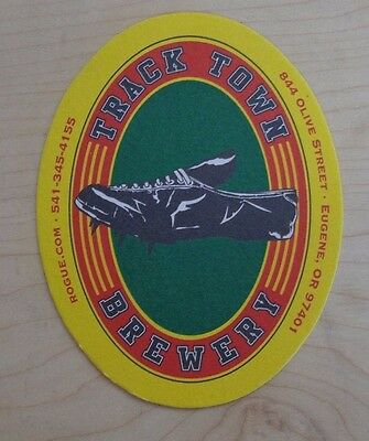 Track Town Brewery Coaster