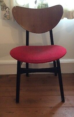 1 X Butterfly Dining Chair  E.Gomme 1950's For Restoration Mid Century Librenza