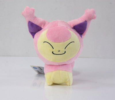 Pokemon 7inch Skitty Eneco Stuffed Plush Doll Collection Kids Toy
