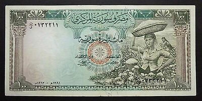 Syrie - 100 Pounds - 1962