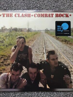 THE CLASH – COMBAT ROCK 180G Remastered Vinyl LP Reissue - NEW + SEALED