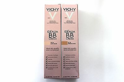 Vichy Idealia BB Cream SPF25 Paraben-Free 40ml - Please Choose Shade: