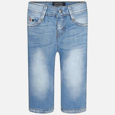 Mayoral Casual Boy denim jeans in Stonewash Blue ( Aged 12,18,24 and 36 months)