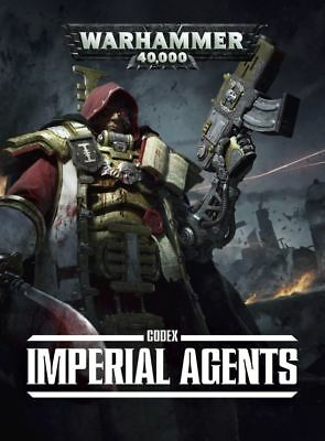 Codex Imperial Agents (German) Softcover Games Workshop Sororitas Inquisition