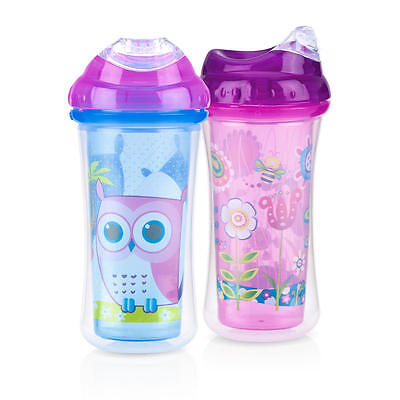 NUBY COOL SIPPER 2 PACK 9oz