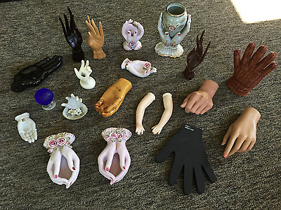 LOT of 20 Vintage Collectible Hands