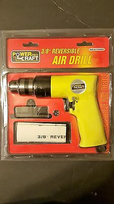 Powercraft pro 3/8 reversible air drill No. AD3BRV New