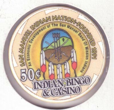 Indian Bingo Casino, Highland, CA., 5 Set Poker Chips, Very Rare, #269