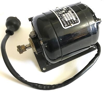 VINTAGE Bodine Electric NSY-12 Electric AC Motor 115V 1800 RPM 1A 60Cy. 1/75 HP