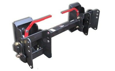 eUniversal Skid Steer Hitch Adapter w/3 Position Rollback 8297