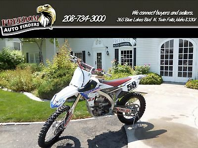 Yamaha YZ  2014 Yamaha White YZ 450 F 449 5 Speed Manual Clean Black