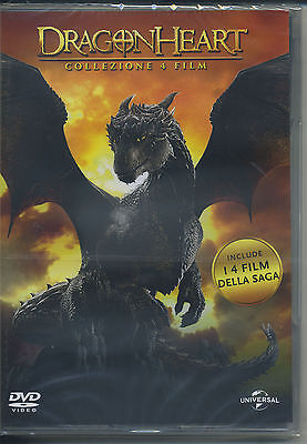 DRAGONHEART COLLECTION (4film) DVD NUOVO