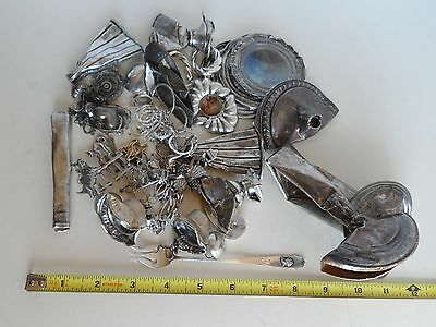 12.4 Ounces Sterling Silver 925 Scrap Recovery Lot 351g Clean-Tested