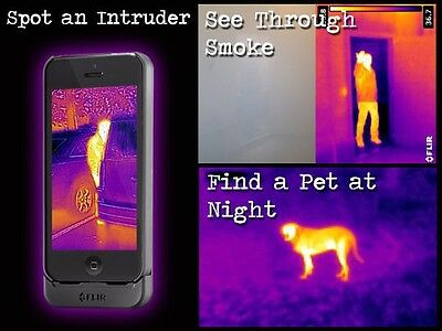 Flir One Thermal Imaging Camera For Ipone Ghost Hunting Paranormal Ghost Box