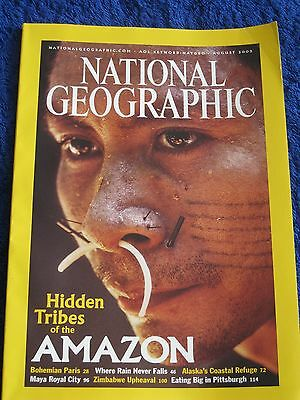 National Geographic Magazine August 2003.