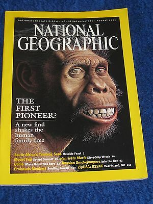 National Geographic Magazine August 2002