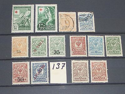 early Finland stamps mint & used