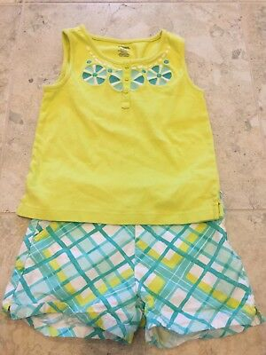 Girls Gymboree Shirt And Shorts Set Size 8
