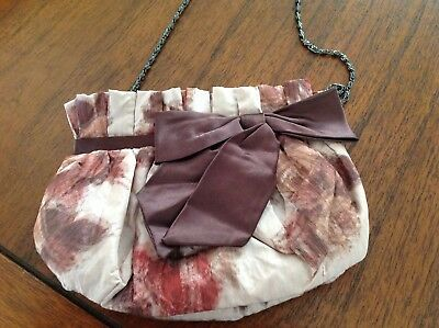 Coast Floral Bag With Bow