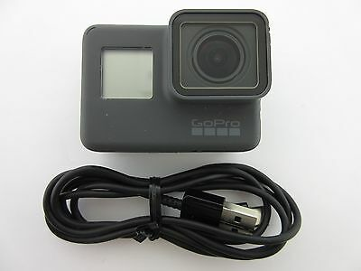 GoPro HERO5 Black 12MP Waterproof 4K Camera Camcorder Wi-Fi CAMERA & CABLE ONLY