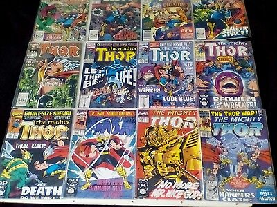 THE MIGHTY THOR x 12 COMICS LOT