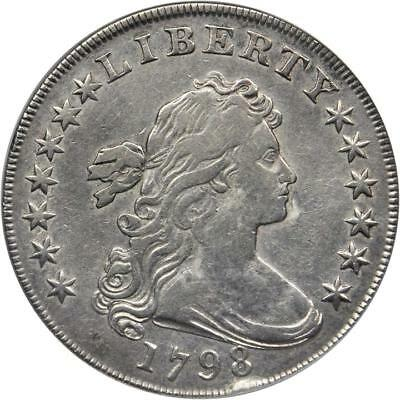 1798 Drapped Bust Dollar *  Borderline Extremely Fine *
