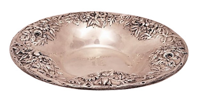 S Kirk & Son Sterling Repousse Serving Bowl / Centerpiece