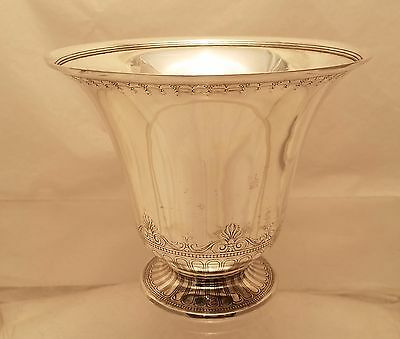 Tiffany & Co. Sterling Vase Art Deco