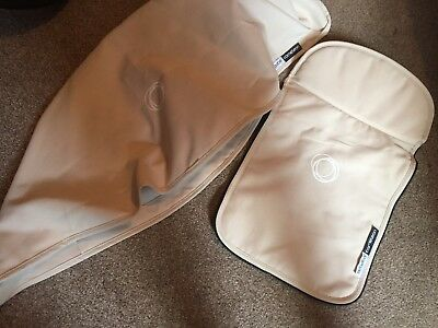 Bugaboo cameleon 1, 2 and 3 Sand canvas fabric set Hood and apron