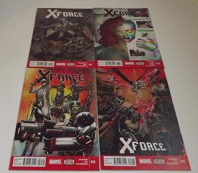 X-Force comic lot of 3! Issues 12, 13, 14, and 15