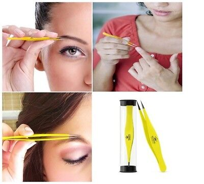 Surgical Tweezers for Eyebrow Ingrown Hair Stainless Precision Sharp Tip PERFECT
