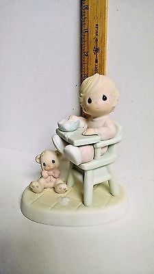 Precious Moments: Baby's First Meal figurine