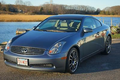 2005 Infiniti G35 Sports Package Infiniti G35 COUPE - SPORTS PACKAGE - MANUAL - LOADED - One Owner