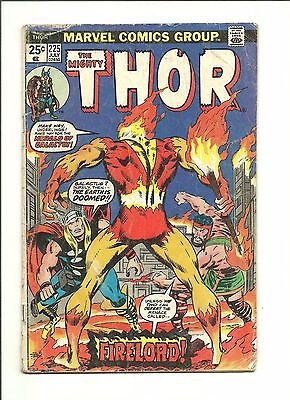 Thor 225 1st Firelord (herald of Galactus) 1974 low grade has Marvel Value Stamp