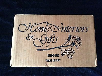 "Home Interior & Gifts Set of (4) 6"" Candle Holders 1184-BD New in Box"