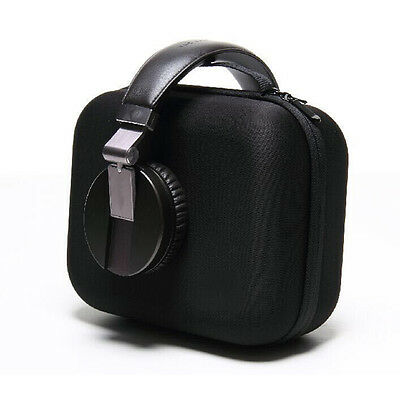 Portable Black Large Headphone EVA Earphone Carrying Case Storage Bag Box Hot