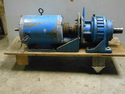 Gear Reducer 19:1 with 5hp induction motor