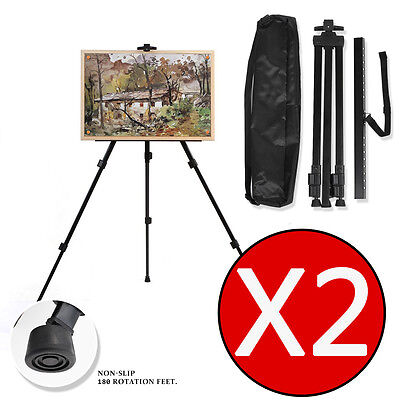 Buy 1 Get 2, Adjustable Tripod Easel Display Stand Drawing Board Art Painting