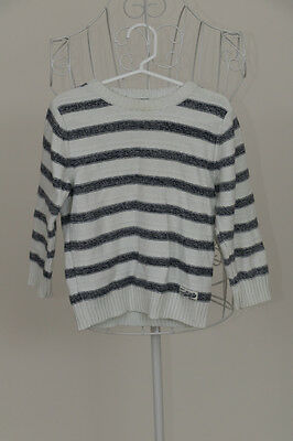 """Next"" Size 2-3 yrs. Classic Boys Blue + White Stripe Jumper. Perfect! Bargain!"